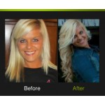 Lindsey W. - We love the big curls Lindsey used when styling her Pro Extensions!