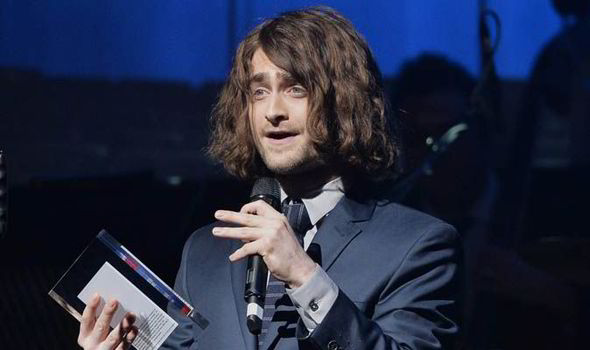 Former Harry Potter star Daniel Radcliffe was barely recognizable at last month's WhatsOnStage awards in London.