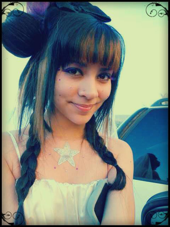Jasmine as Innocent Bride on the Outside, but Evil Within