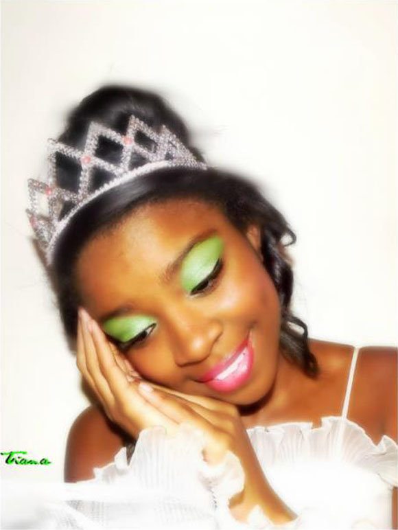 Rachel as Tiana from Princess and the Frog