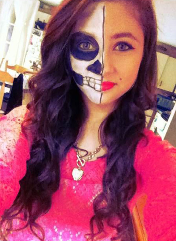 Taylor as Skull Face / Marilyn Monroe
