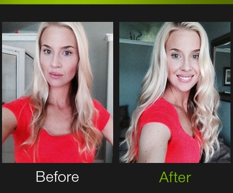 Hair extension before after photos pro extensions natalie natalie adds length and volume instantly in our blazing bright 613 platinum blonde pmusecretfo Choice Image