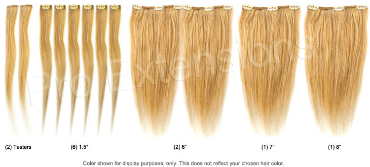 14 inch clip on hair extensions set breakout pmusecretfo Choice Image