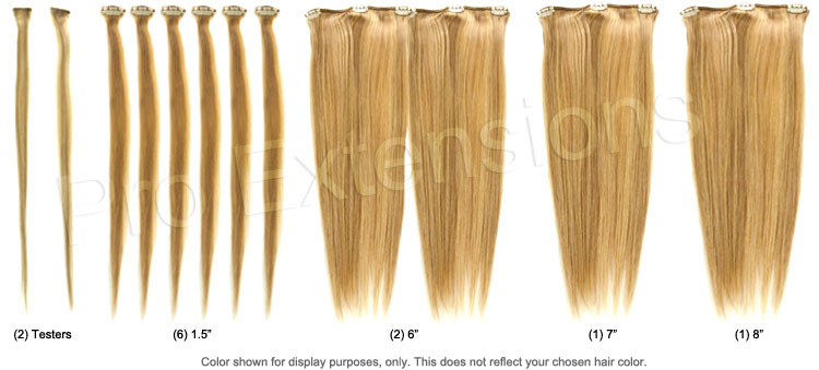 20 inch remy clip in hair extensions set breakout pmusecretfo Image collections